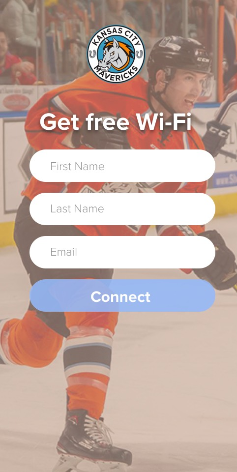 Log in to Mavericks wifi
